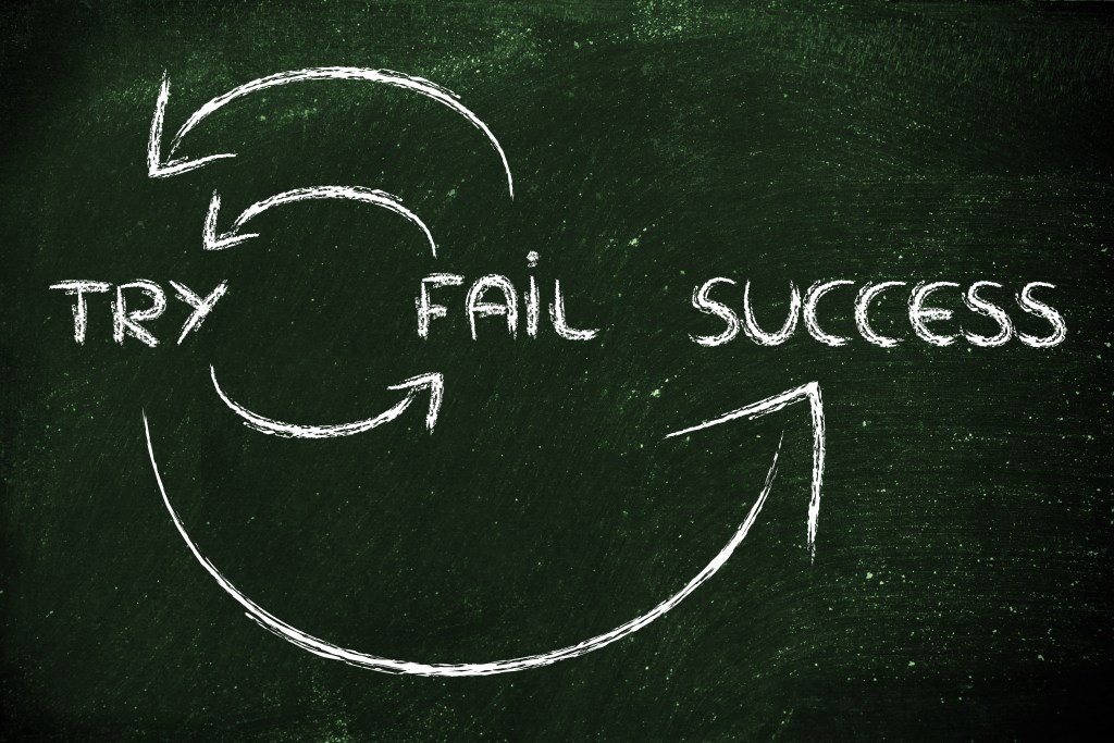 Why You Can't Fail (Cause It's a Learning Experience, Everything You Do Gets You a Little Closer to Your Goal)